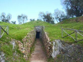Etruscan tomb