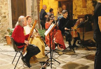 music in Montemerano